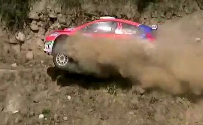 Tremendo accidente en el Rally Argentino