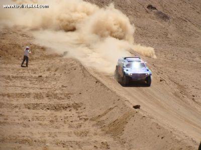 Morales y los ejecutivos del Dakar negocian paso por Bolivia en 2013, no en 2012